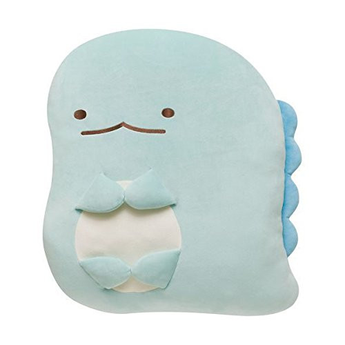 San-X Plush Doll Sumikko Gurashi Super Squishy Die Cut Coushion Lizard TJN