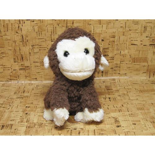 Sun Lemon Plush Doll fluffies Monkey Brown Small TJN