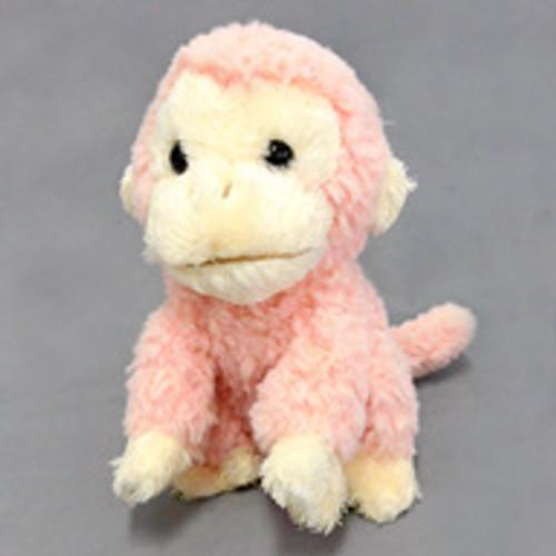 Sun Lemon Plush Doll fluffies Monkey Pink Small TJN