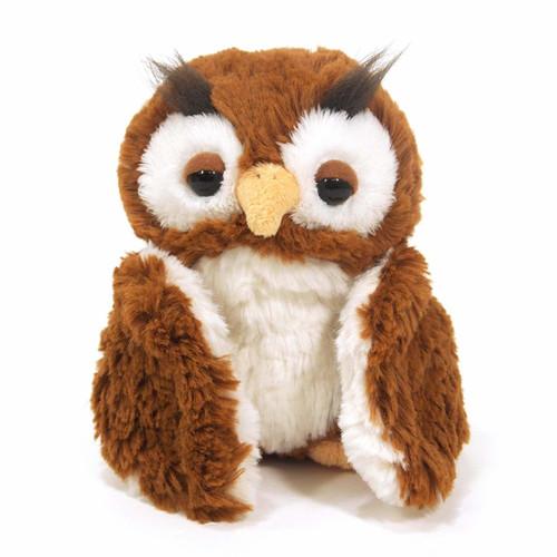 Sun Lemon Plush Doll fluffies Owl Brown Small TJN