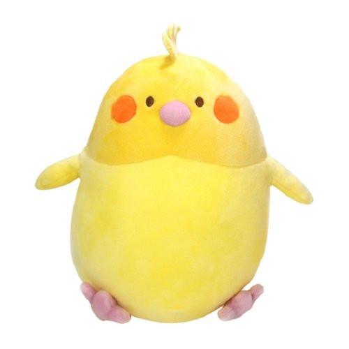 Sun Lemon Plush Doll Hug Hug Mocchiri Cushion Cockatiel TJN