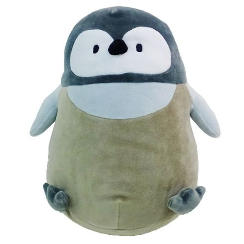 Sun Lemon Plush Doll Hug Hug Mocchiri Cushion Penguin Chick TJN