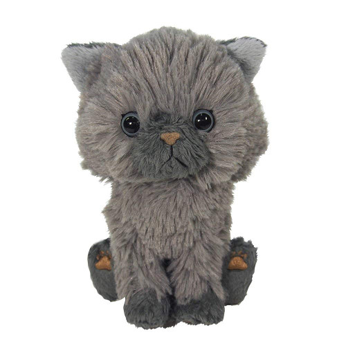 Sun Lemon Plush Doll Kitten Persian cat Gray TJN