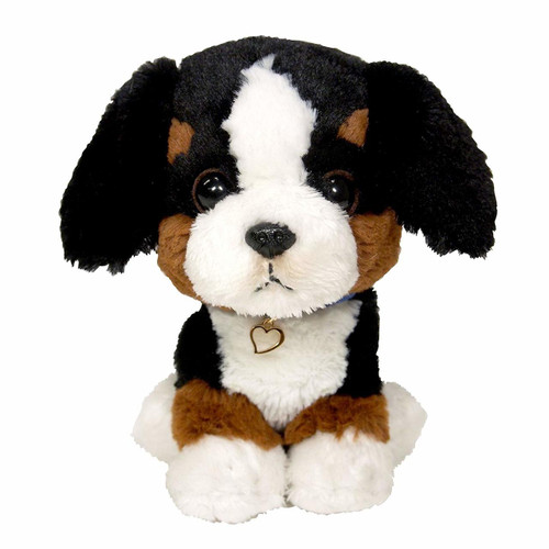Sun Lemon Plush Doll Paps! Animal Dog Puppy Bernese Mountain Dog Small TJN