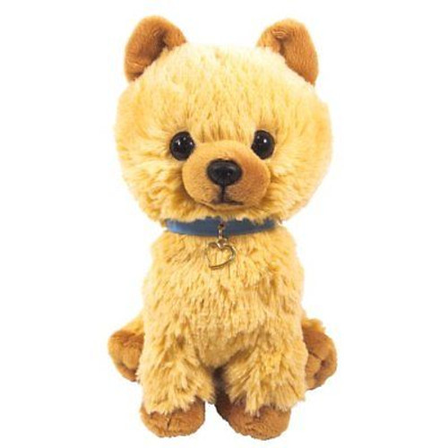 Sun Lemon Plush Doll Paps! Stuffed Toy Plush Puppy Pomeranian Medium TJN