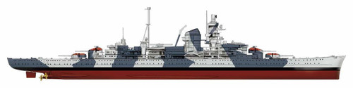 Pit-Road Skywave W-219 German Navy Heavy Cruiser Admiral Hipper 1941 1/700 Scale kit