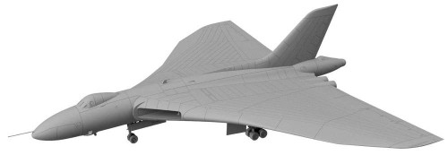 Pit-Road Skywave SN-22 RAF Strategic Bomber VULCAN B.2 w/ Blue Steel 1/144 Scale kit