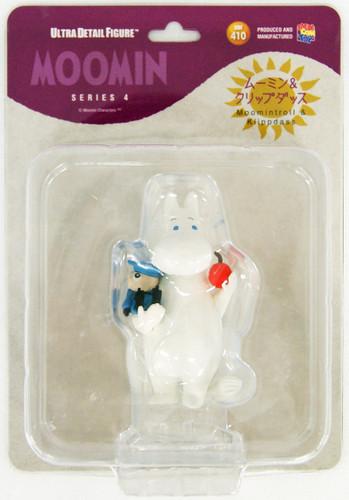 Medicom UDF-410 Ultra Detail Figure Moomin Series 4 Moomintroll & Klippdassar