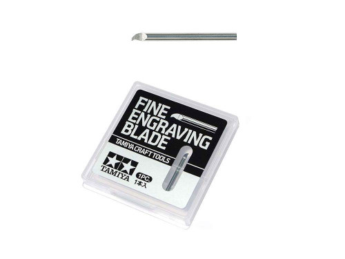 Tamiya 74145 Craft Tools Fine Engraving Blade 0.15mm