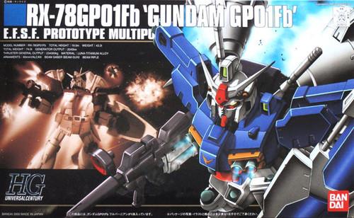Bandai HGUC 018 Gundam RX-78GPO1Fb GPO1Fb 1/144 Scale Kit