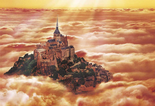 Apollo-sha Jigsaw Puzzle 48-741 Mont Saint-Michel France (300 Pieces)
