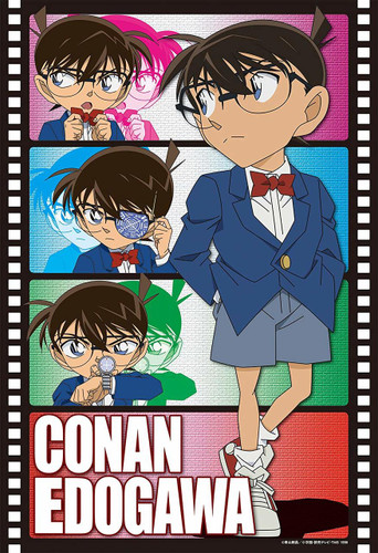 Apollo-sha Jigsaw Puzzle 48-790 Case Closed Conan Edogawa (300 Pieces)