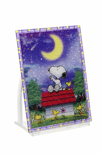 Beverly Crystal Jigsaw Puzzle CJP-038 Peanuts Snoopy Wish Upon a Night Sky (165 Pieces)
