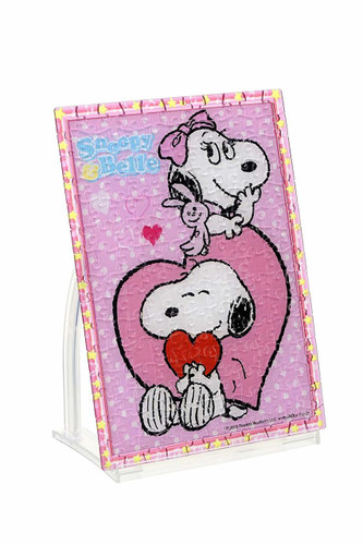 Beverly Crystal Jigsaw Puzzle CJP-034 Peanuts Snoopy & Belle (165 Pieces)