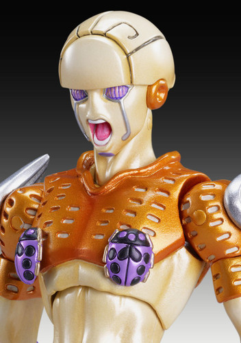 Medicos Super Action Statue Jojo's Bizarre Adventure Part 5 Gold Experience Figure