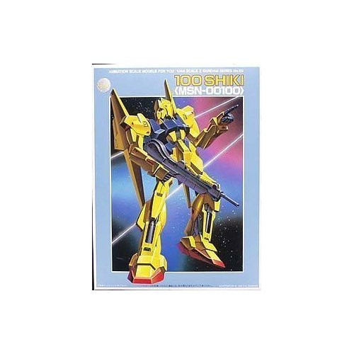 Bandai 047881 Gundam 100 Shiki (MSN-00100) 1/144 Scale Kit