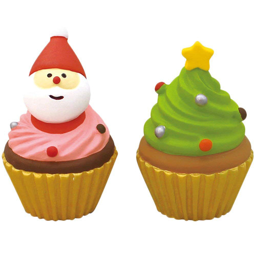 DECOLE concombre Mini Christmas Cake (Pink Green 2 Set)
