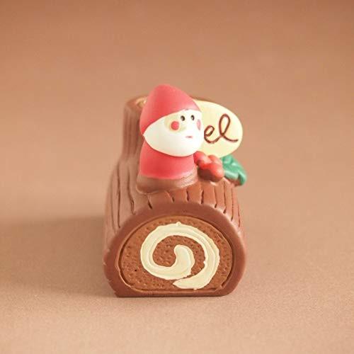 DECOLE concombre Christmas Yule Log Bûche de Noël Mini Figure