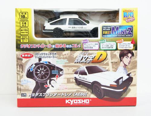 Kyosho First MINI-Z 66601 Initial D Toyota SPRINTER TRUENO AE86 (2.4GHz System Readyset)