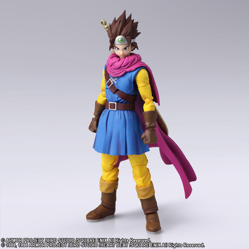 Square Enix Bring Arts Dragon Quest III The Seeds of Salvation Hero Action Figure