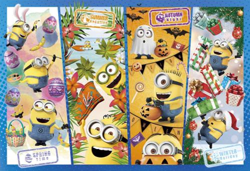 Yanoman Jigsaw Puzzle 03-889 Minions Party of Seasons (300 Pieces)