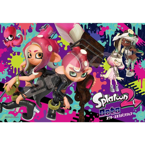 Ensky Frost Art Crystal Jigsaw Puzzle 300-AC042 Splatoon 2 Octo Expansion (300 Pieces)