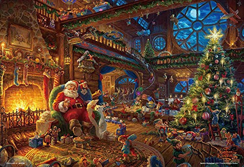 Beverly Jigsaw Puzzle 93-140 Thomas Kinkade Santa Workshop (300 Pieces)
