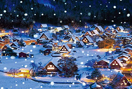 Beverly Jigsaw Puzzle 33-164 Snowing Shirakawa-go Gifu Japan (300 Pieces)