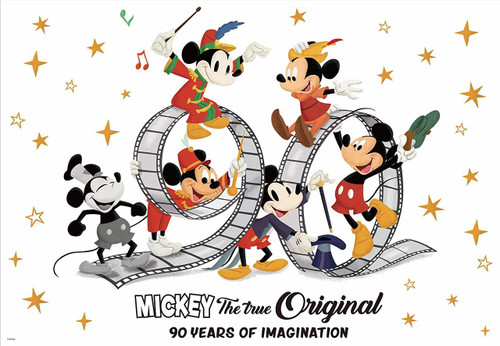 Tenyo Japan Jigsaw Puzzle D-1000-500 Disney Mickey The True Original (1000 Pieces)
