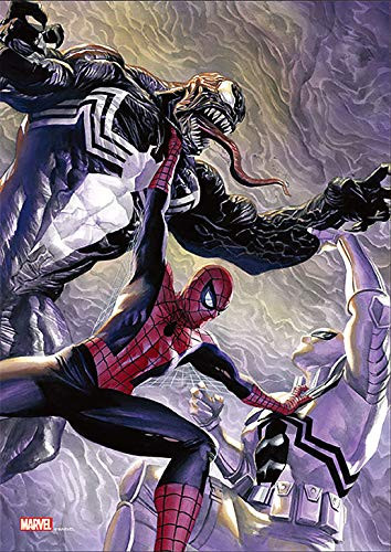 Tenyo Japan Jigsaw Puzzle R-108-625 Marvel Spider-Man vs Venom (108 Pieces)