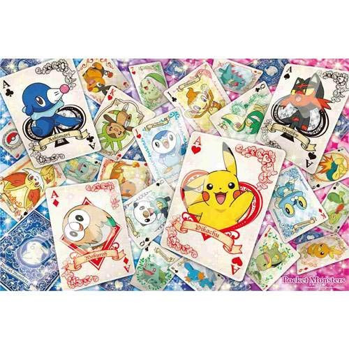 Ensky Magical Piece Jigsaw Puzzle 1000-MG010 Pokemon Playing Cards  (1000 Pieces)