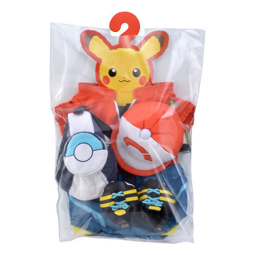 Pokemon Center Original Pikachu's Closet Main Character Costume Set 1116