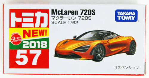 Takara Tomy Tomica 57 McLaren 720S 102632