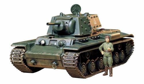Tamiya 35142 Russian KV-1B Tank 1940 w/Applique Armor 1/35 scale kit