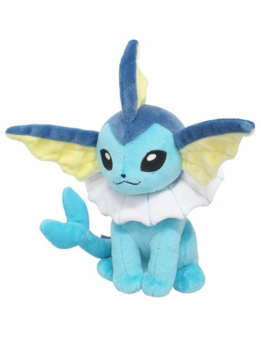 San-ei Pokemon ALL STAR COLLECTION 9 Plush Doll Vaporeon (S)