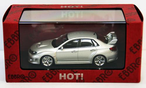 Ebbro 44396 Subaru Wrx Sti (Silver) 1/43 Scale