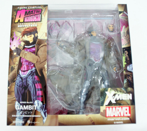 Kaiyodo Amazing Yamaguchi 012 Gambit Revoltech Figure