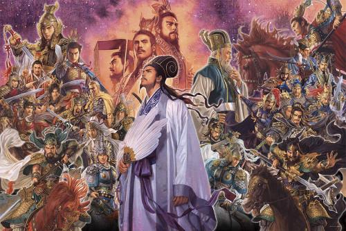 Yanoman Jigsaw Puzzle 10-1333 Tsuyoshi Nagano Art Sengokubusho Samurai (1000 Pieces)