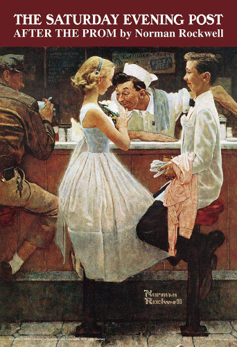 Yanoman Jigsaw Puzzle 03-890 Norman Rockwell After the Prom (300 Pieces)