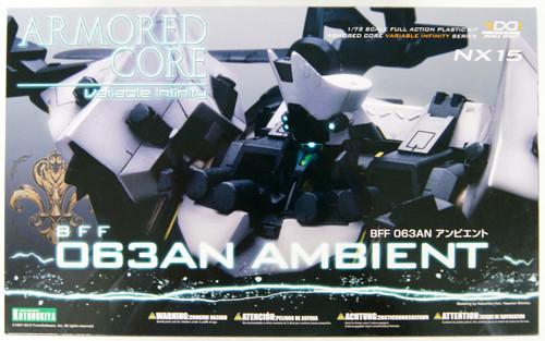Kotobukiya VI064 Armored Core BFF 063AN Ambient 1/72 Scale Kit