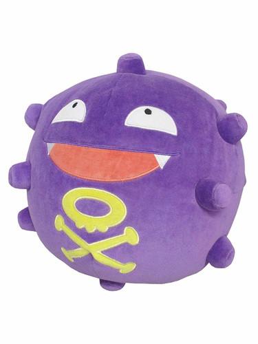 San-ei PZ32 Pokemon Mochi Fuwa Cushion Koffing (Dogars)