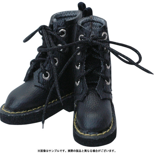 Azone AKT053-BLK 21-27cm Pure Neemo Advance 4 Hole Boots Black