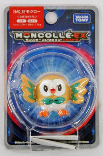 Takara Tomy Pokemon Moncolle EMC_02 Rowlet (Mokuroh)