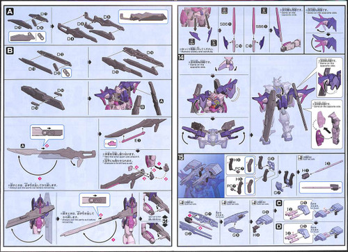 Bandai Gundam Build Divers 021 Gundam OO Sky HWS (Trans-Am Infinity Mode) 1/144 Kit