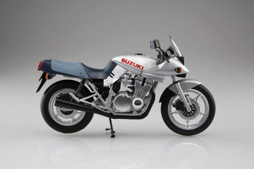 Aoshima Skynet 05221 Suzuki GSX1100S KATANA SL Silver 1/12 Scale Finished Model