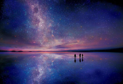 Epoch Jigsaw Puzzle 28-028 Starry Sky Uyuni Bolivia (300 Pieces)