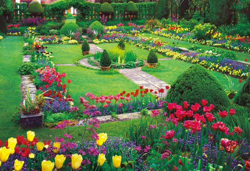 Epoch Jigsaw Puzzle 25-175 Enchanting Chenies Manor Garden (300 Pieces)