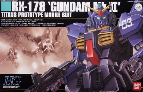 Bandai HGUC 030 Gundam RX-178 Mk-II TITANS 1/144 Scale Kit