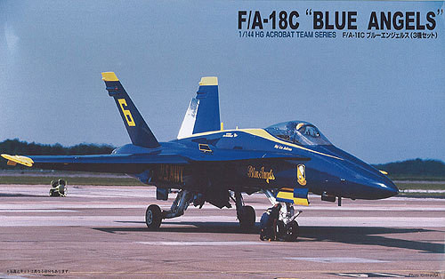 Arii 622032 F/A-18C Blue Angels (3 planes) 1/144 Scale Kit (Microace)