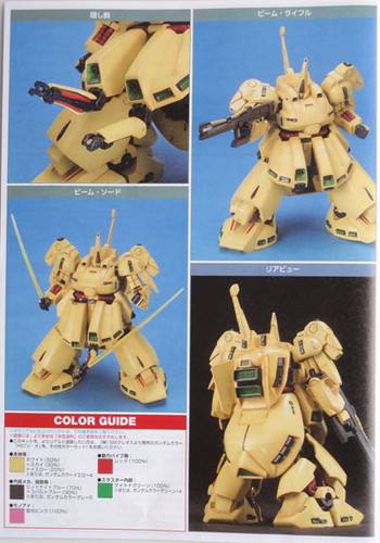 Bandai HGUC 036 Gundam PMX-003 THE-O 1/144 Scale Kit